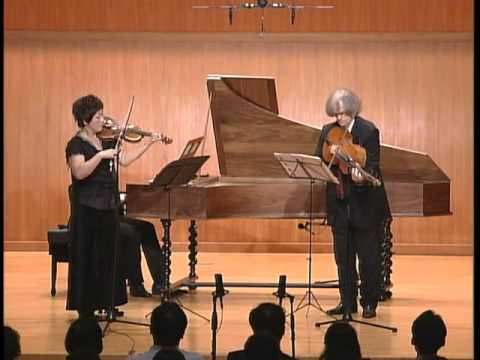 JS Bach – Sonata for Violin and Basso Continuo G-Major / BWV 1021
