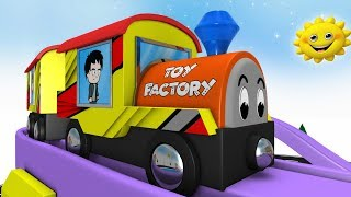 Thomas The Train Videos  - Toy Factory Cartoon - Choo Choo Train - Kids Videos for Kids - Cars