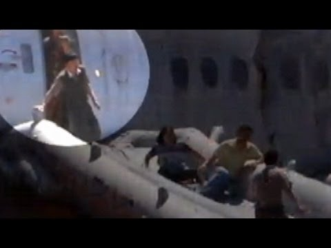 Plane Crash San Francisco Asiana Airlines: Video Shows Crash Passengers' Escape