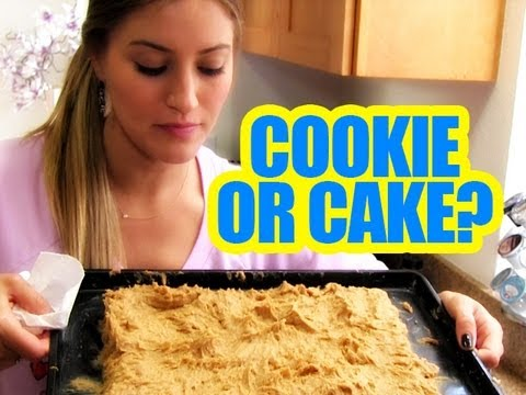 HOW TO MAKE A BIG COOKIE!!