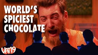 We Ate The World's Hottest Chocolate Bar While Watching Other People Eat It Too! (HOT REACTIONS)