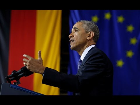 "[Full speech] Obama: ""The world needs a united Europe"""
