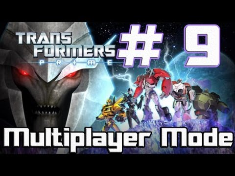 Transformers: Prime -- The Game - Part 9 - Ya gotta be quick to play! (Wii U)