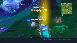 Fortnite battle royal gameplay with friend? Crazy snipe in the air