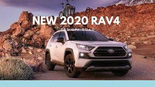 2020 Toyota RAV4 TRD Off Road | Interior and Exterior