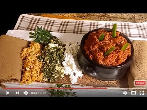 Ethiopian Special Kitfo! (Beef Dish)