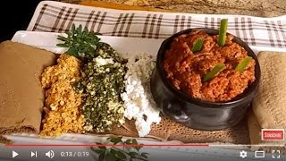 How to make Kitfo - Ethiopian Food