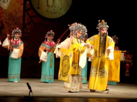 Peking Opera At Yifu Theater In Shanghai. China video