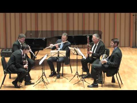 Camerata Pacifica  Harbison Wind Quintet, mvmnts 2 &amp; 3