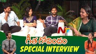 Geetha Govindam Team Interview | Vijay Deverakonda | Rashmika Mandanna | NTV