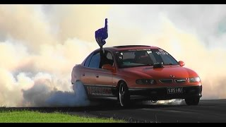 TIP INS & HIGHLIGHTS FROM AUSTRALIA DAY WEEKEND BURNOUTS SYDNEY DRAGWAY 2015
