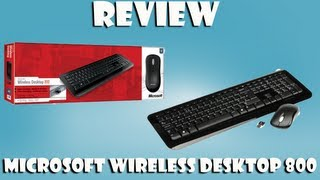 Review Kit Wireless Desktop 800 Teclado e Mouse PT-BR