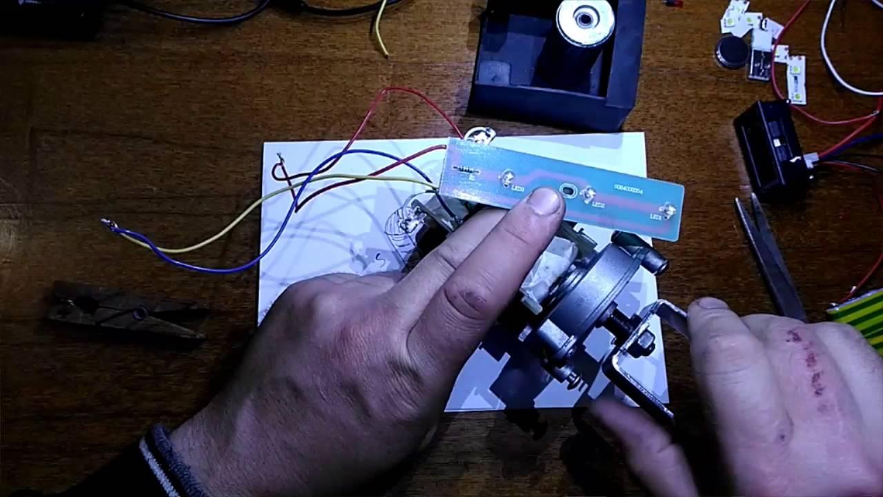 Ветрогенератор из шагового двигателя своими руками 90