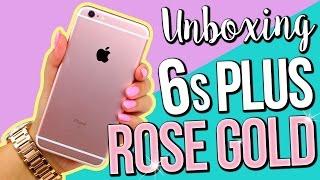 ROSE GOLD iPhone 6s Plus ♥ UNBOXING