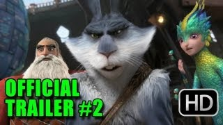 Rise of the Guardians - Rise of the Guardians Official Trailer #2 (2012) -  Chris Pine, Hugh Jackman, Jude Law