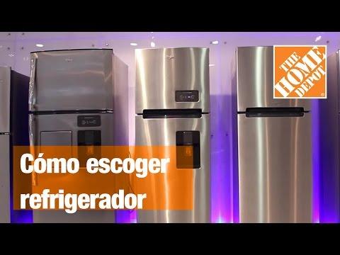 Escoge el mejor refrigerador para tu hogar.