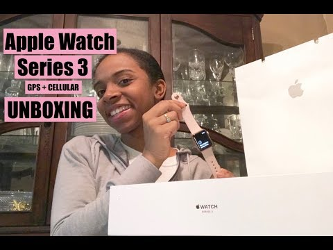 APPLE WATCH Series 3 GPS + Cellular: Unboxing/Review