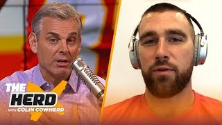 Travis Kelce on what separates Patrick Mahomes from other QBs, playing for Reid | NFL | THE HERD