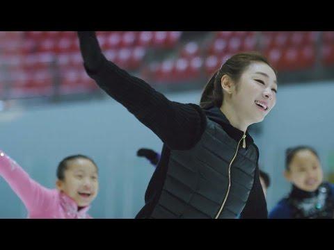 趣味で日本語字幕・キムヨナ・yuna kim・[30秒] 2014冬KB・CM「国民にもっと近く」