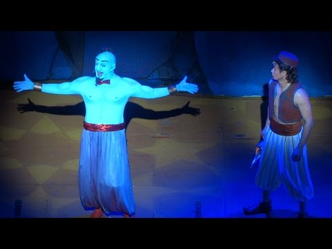 """Aladdin: A Musical Spectacular"" full final performance at Disney California Adventure"