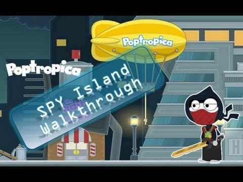 Poptropica Spy Island Walkthrough | by Agent Loud Seal