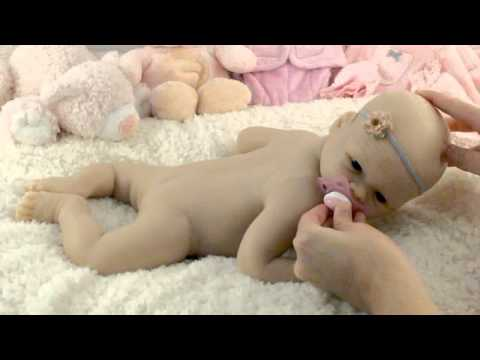 Charlotte Full Body Silicone Baby in EcoFlex 20