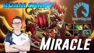 Miracle Bounty Hunter SUPER HARD CARRY Dota 2