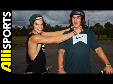 Alex Hiam Vs. Chris Courtenay on Aussie BMX Trivia, Alli Sports HEAD2HEAD