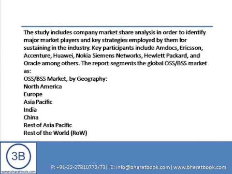 Bharat Book Presents : OSSBSS Market   Asia Pacific And Global Industry