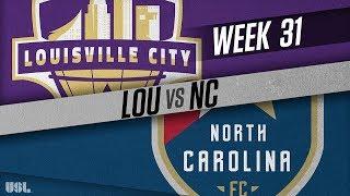 Louisville City FC vs North Carolina FC: October 9, 2018