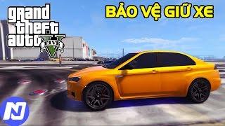 GTA 5 - Làm bảo vệ chôm siêu xe sịn và xách đi đua ở Sân Bay LS Airport | ND Gaming