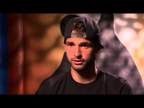 Grigor Dimitrov interview - Australian Open 2015