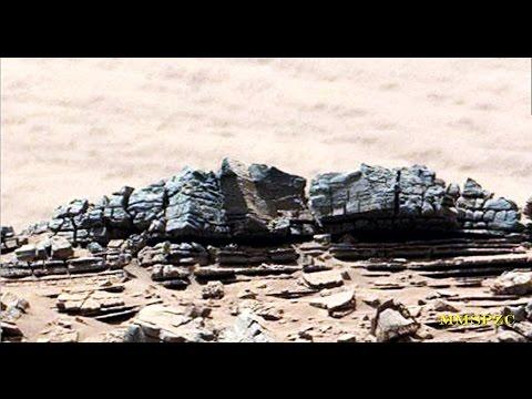 Mars Moon Space. Curiosity Anomalies 6