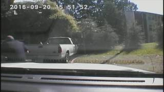 Charlotte police dashcam video of Keith Lamont Scott shooting