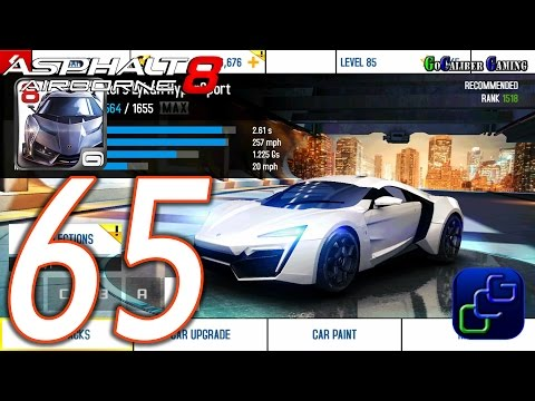 Asphalt 8 W Motors Lykan Hypersport on Scratch
