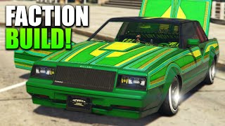 GTA 5 Lowrider DLC: Faction Customisation/Drive - BEST DLC EVER!!!
