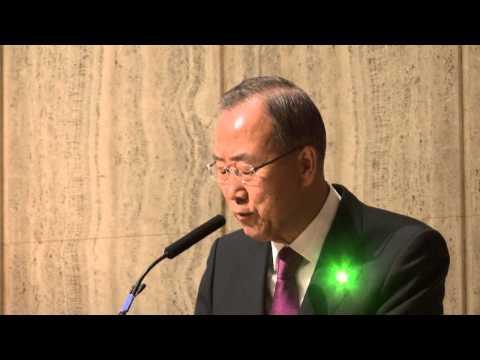 Ban Ki-moon Speech at UN Prayer Service 2014