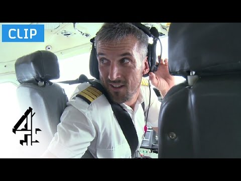 Rowdy Passengers With No Cabin Crew | Worst Place To Be A Pilot | Channel 4 video