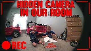 Twins Caught on Hidden Camera Opening Top Secret Box