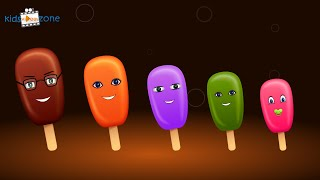 Colors Ice Cream  Finger Family | ice candy finger family Nursery Rhymes song