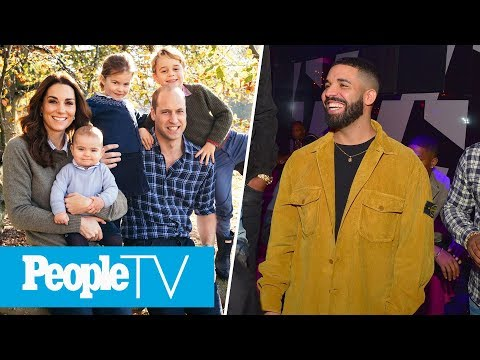 The Royal Family's Christmas Cards Revealed, The Drama Between Kanye & Drake | PeopleTV MP3