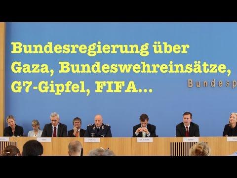 Naive Fragen zu Gaza, FIFA, G7, Schuldenschnitte & Ramstein