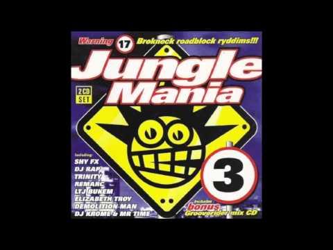 Jungle Mania 3 (1995) Grooverider's