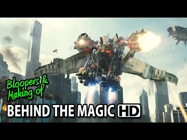 Transformers: Dark of the Moon (2011) Behind the Magic - The Visual Effects #2