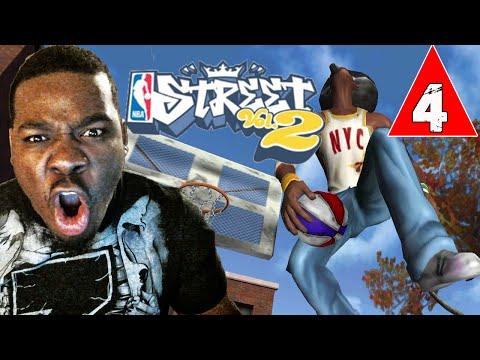 NBA Street Vol 2 Gameplay Walkthrough Part 4 - Stretch the Legend - Lets Play NBA Street Vol 2