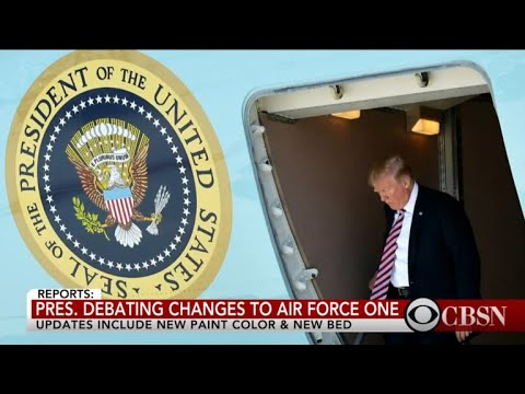 Report: Trump debating changes to Air Force One
