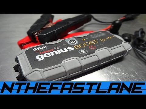 GB30 NOCO Jump Starter Review & Free Give Away!!