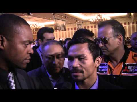 MANNY PACQUIAO: Floyd Mayweather Is SCARED Of Me!