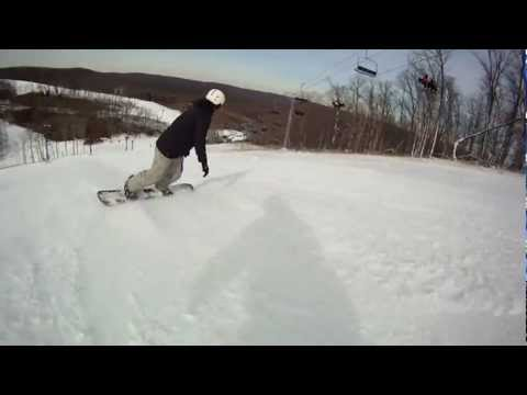 Hidden Valley Resort - Early Season Snowboarding