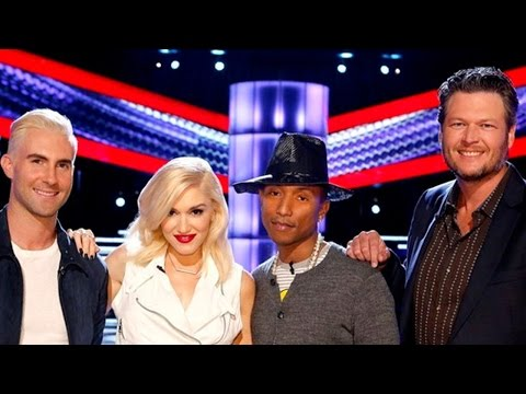 The Voice Season 7 Trailer with Gwen Stefani, Pharell, Adam and Blake